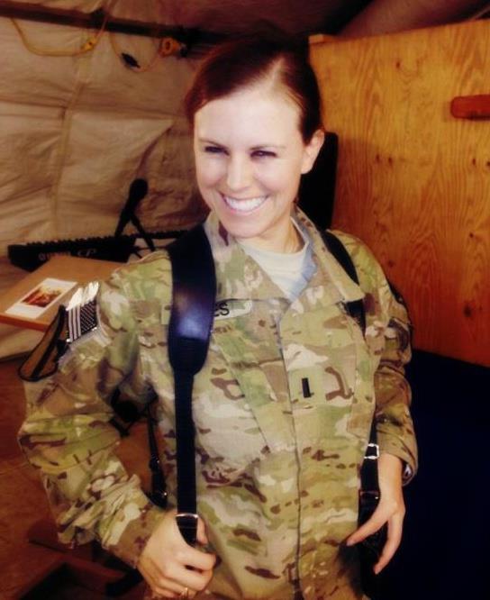 Rachel Fikes Soldier